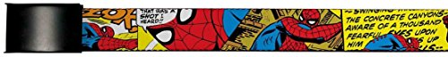 Spider-Man Marvel Comics Superhero Comic Panels Action Web Belt Chrome