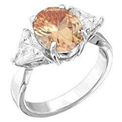 T26 Tqw10407Zvh Beautiful 4 Carat Champagne CZ Diamond Engagement Anniversary Fashion Ring (8)