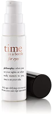 Philosophy Time in a Bottle for Eyes Daily Age-Defying Serum, 0.5 Ounce