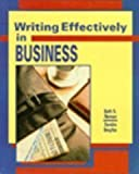 img - for Writing Effectively in Business book / textbook / text book