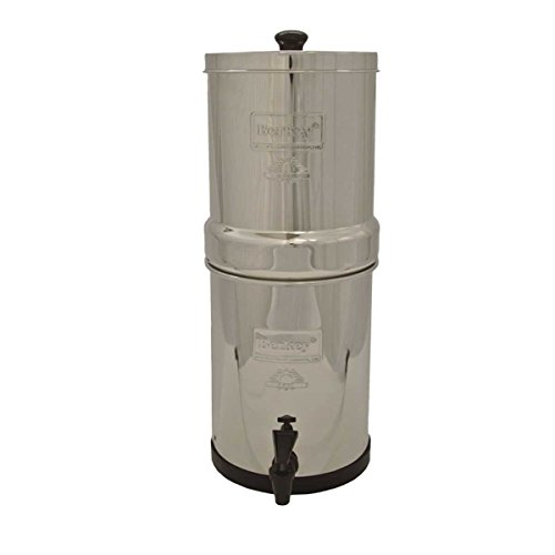 Review Berkey BK4X2-BB Big Berkey Water Filter System w/ 2 Black and 2 Fluoride/Arsenic Filters
