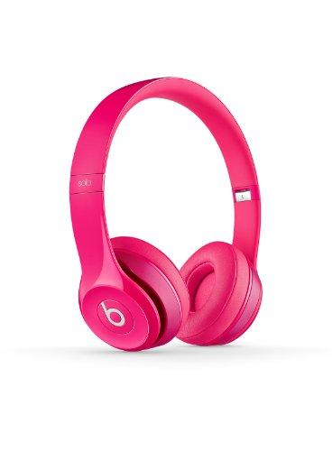 Beats Solo 2.0 On-Ear Headphones (Pink)