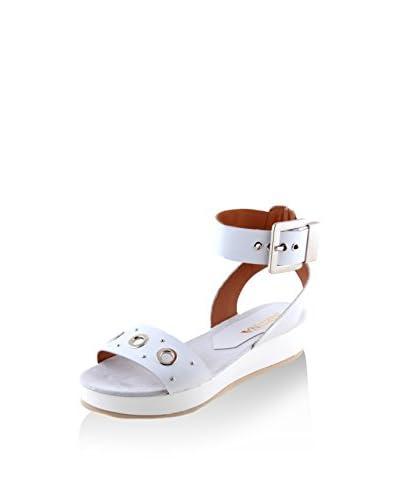 SIENNA Sandalo Zeppa Bianco EU 41