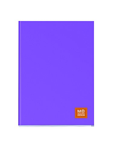miquelrius-2736-notebook-1-colour-notepad-with-lid-a4-squared-80-sheets-80-grams-purple