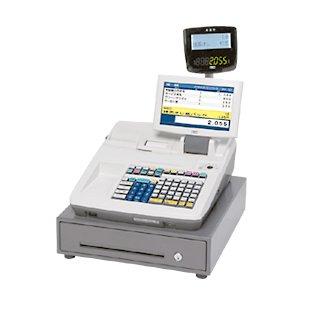 東芝 テック 電子 システム レジ スター MA-2055 ホワイト 99部門