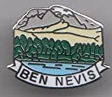 Ben Nevis - Fort William Scotland Town Flag / Crest Pin Badge
