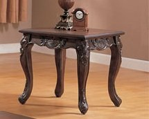 Image of 1-pc End Table in Espresso Finish PDS F60180 (B004RQ7TXY)