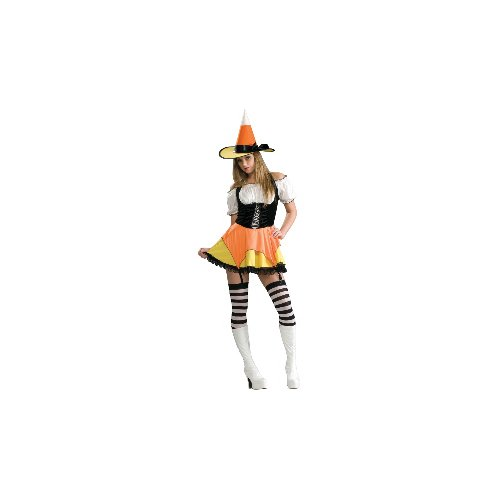 Candy Corn Witch Costume - Medium - Dress Size 8-10