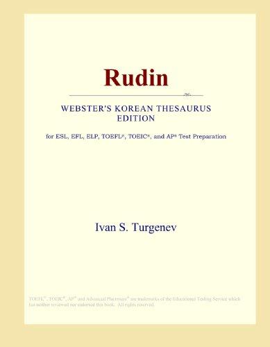 Rudin (Webster's Korean Thesaurus Edition)