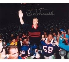 Bill Parcells New York Giants 8x10 #36 Autographed Hand Signed Photo by Hall of Fame Memorabilia