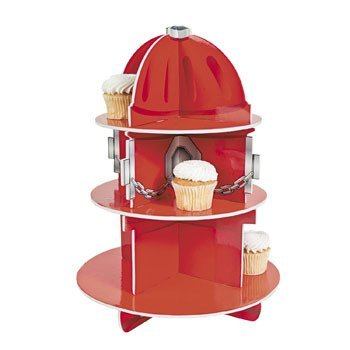 Party Supplies Fire Hydrant Cupcake Holder Stand