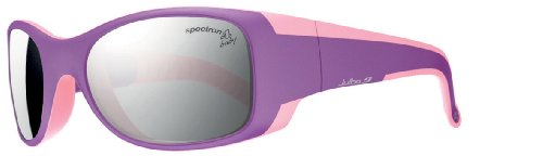 Julbo Kid's Booba Sunglasses, Baby Spectron 3+ Lens. BLUE/YELLOW, 4-6 Years