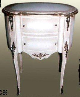 armoire baroque garde-robe commode blanche Louis XV MoCoC03982