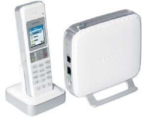 Netgear SPH200D Dual-Mode Cordless Phone With Skype