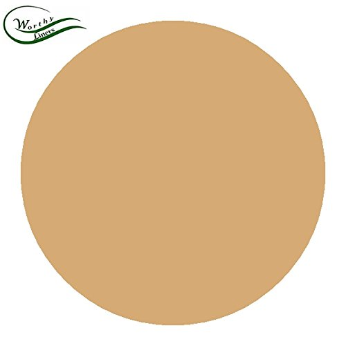 Worthy Liners Natural Parchment Paper Round/Circles (All Sizes Available) 35 Pack (3