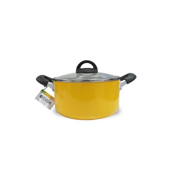 Dealtz Lock&Lock Cook Plus Casserole, 24cm, Yellow (LED 2242) at Sears.com