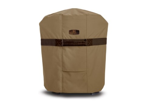 Classic Accessories 55-037-032401-00 Hickory Heavy Duty Smoker/Fryer Cover, Medium