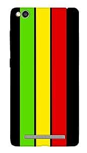 SWAG my CASE PRINTED BACK COVER FOR XIAOMI REDMI 3S Multicolor