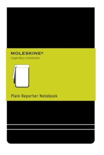 Moleskine Plain Reporter, 9cm x 14cm