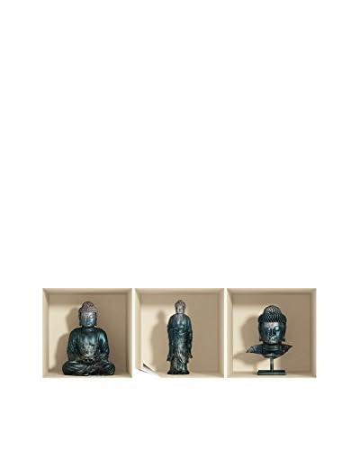 Ambiance Live Vinile Decorativo 3D Effect Buddha Statues