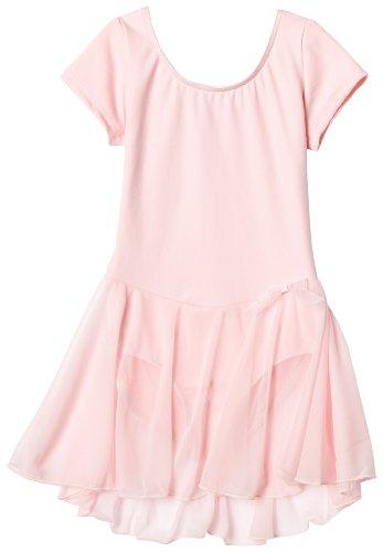 Capezio Ballett Kleid Tanzkleid 3966C Short Sleeve Nylon Dress