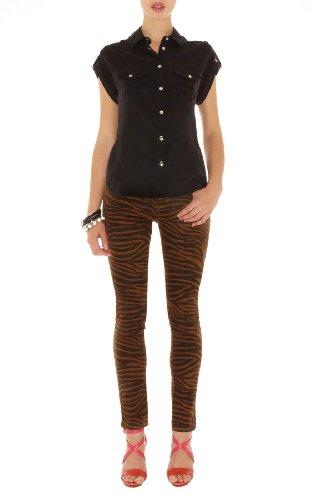 Zebra Print Jean