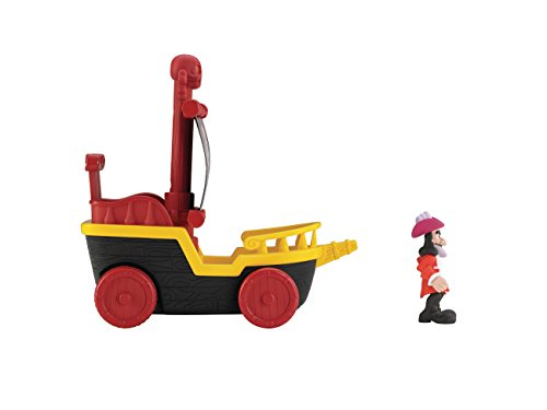 Fisher-Price Disney Jake And The Never Land Pirates: Sail 'N Roll Captain Hook