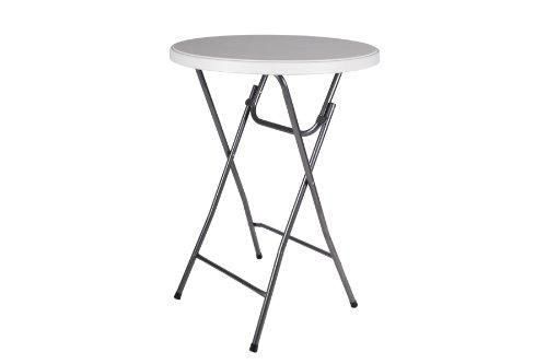 Partytisch-Stehtisch-110-cm-rund-klappbar-Bistrotisch-Bartisch-Gartentisch