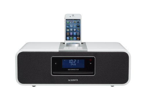 Roberts Sound200 CD/DAB/DAB+/FM/USB/SD Digital Stereo Sound System with dock for iPhone/iPod and recording facility... Black Friday & Cyber Monday 2014