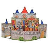 Sunshine Old Castle Kids Playing Tent Outdoor Playhouse Toys Foldable Kid Tent Discovery Kids Pop up Play Tent