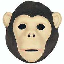 Foam Mask Chimpanzee - 1