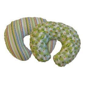 Boppy Slipcover 2-pack 'Rainforest/Stripe'