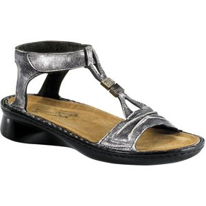 Naot Women's Cymbal Sandals,Espresso Leather,38 M EU