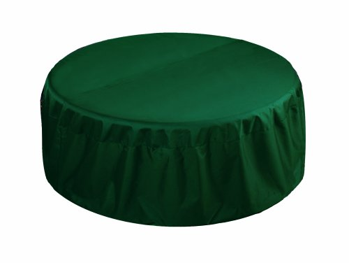 "48"" Fire Pit Cover-Hunter Green"