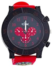 COSMIC ANALOG RED SPORTS WATCH FOR MEN