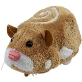 Zhu Zhu Pets Hamster Mr. Squiggles - Light Brown front-398070