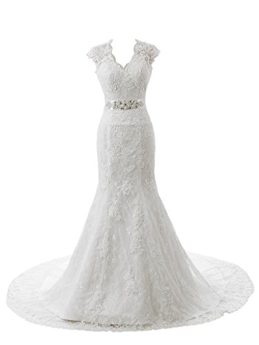 Ubridal-Real-Pictures-Embroidery-Lace-Mermaid-Court-Wedding-Dresses-Bridal-Gowns