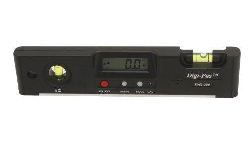 Digi-Pas DWL-200 Torpedo Digital Level Electronic Angle Gauge