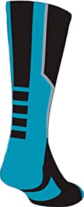 Click here to buy Perimeter 2.0 Athletic Crew Socks (20 Colors) by TCK Sports.