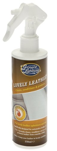 Greased Lightning Lovely Leather 250ml 2-in-1 Leather Cleaner & Conditioner