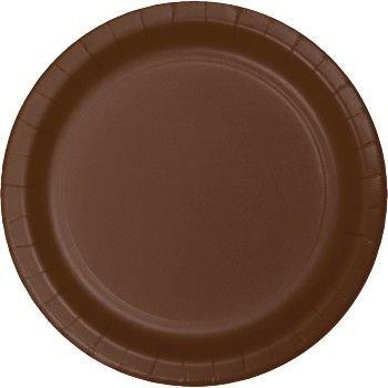 Heavy Duty 7-inch Plates, Brown