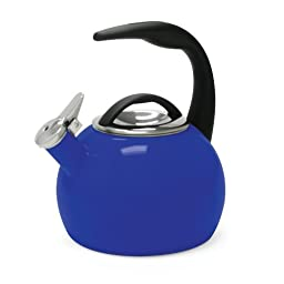 Chantal 37-ANN BI Chantal 40th Anniversary Enamel on Steel Teakettle, 2-Quart, Indigo Blue