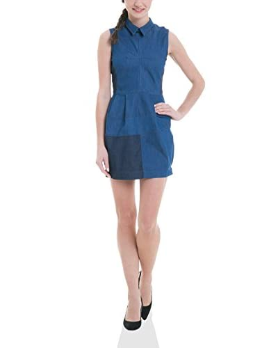 BIG STAR Vestido Ailin_Dress_Slim Azul