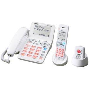 ユニデン デジタルコードレス電話機(子機1台+安心コール1台)ホワイトUniden DECT 1.9GHz対応 「安心コール」付き DECT3188C