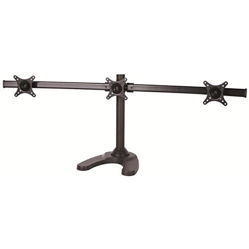 monitor-tischhalterung-curve-mit-standfuss-schwarz-fur-drei-monitore-15-neigbar-360-drehbar-fur-asus