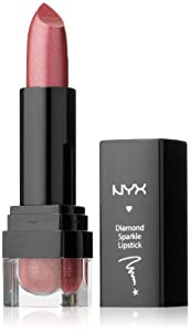 NYX Cosmetics Diamond Sparkle Lipstick, Sparkling Copper, 0.15 Ounce
