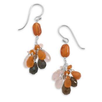 Briolette Multistone Earrings