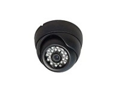 1/3-Inch Sony Color CCD 3.6mm Lens 540 TV Lines 24 IR LED, Weatherproof Dome, Black Color, !!! MADE IN KOREA, NOT CHINA, WITH GENUINE JAPANESE CHIPSET !!!