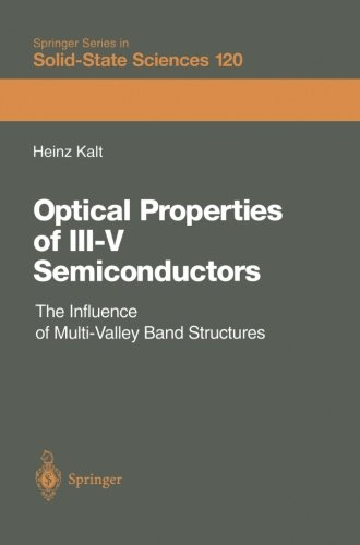 Optical Properties of III-V Semiconductors: The Influence of Multi-Valley Band Structures (Springer Series in Solid-Stat