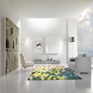 Illusion Blockbuster Multicoloured Rug from Flair Rugs